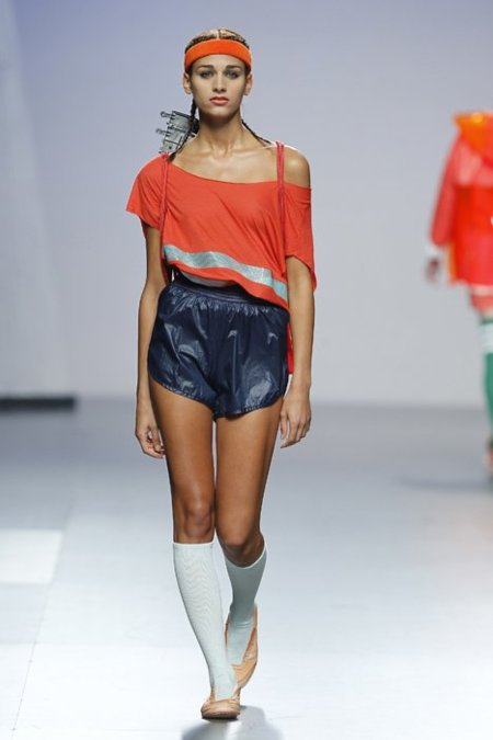 Deporte Alba Carlada Cibeles Madrid Fashion Week