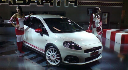 Fiat presenta el Fiat Grande Punto Abarth SS en Bolonia