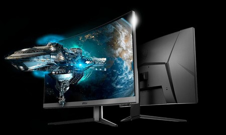 Amazon y PcComponentes te dejan un monitor gaming curvo de 32 pulgadas como el MSI Optix G32C4 muy barato: lo tienes por 229,98 euros con envío gratis