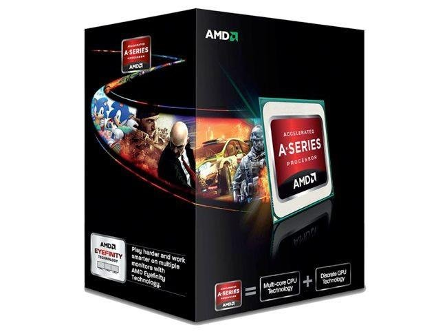AMD Fusion A Series box