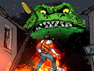 'Darkmouth', la saga literaria sobre caza de monstruos se convertirá en una película animada