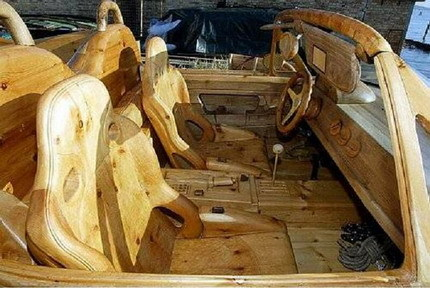 Ferrari de madera