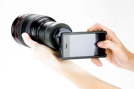 Utiliza las ópticas de tu DSLR en tu iPhone 4
