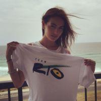Camilla Belle se une al nail art olímpico