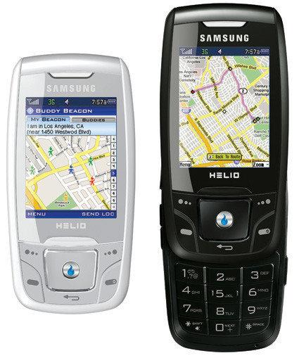 Helio Drift con servicio de localización GPS