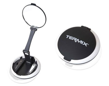 Kit espejo, pinzas y cortauñas de Termix: imprescindible en tu bolso