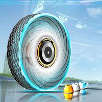 Goodyear reCharge, el prototipo de neumático del futuro que se recambia con cápsulas y reforzado con seda de araña