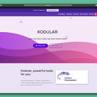 Kodular, crea aplicaciones para Android sin saber programación