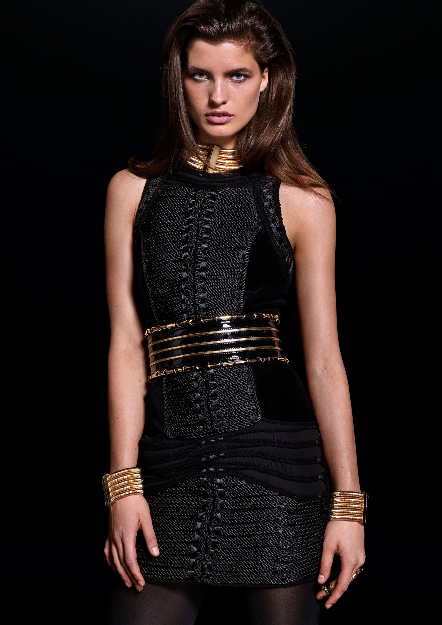 Lookbook de H&M x Balmain