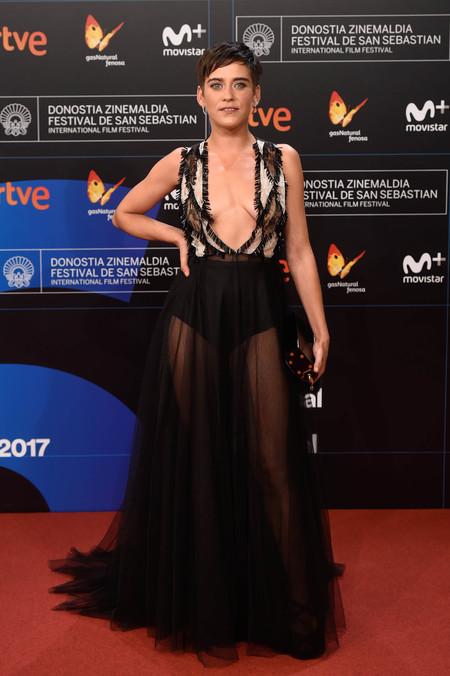 festival de cine de san sebastian alfombra roja Maria Leon