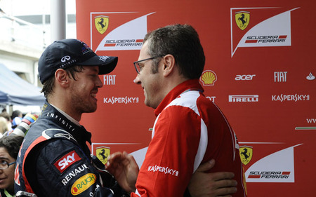 Vettel-Domenicali