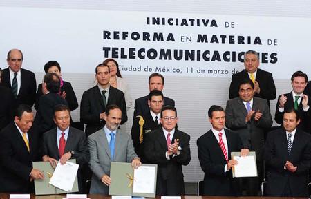 Hoy se promulgan las leyes secundarias de la Reforma de Telecomunicaciones