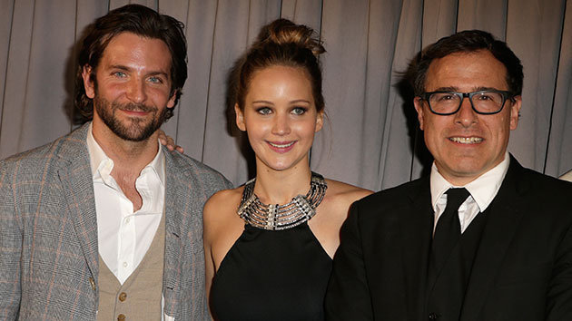 Los protagonistas de 'El lado bueno de las cosas' y su director
