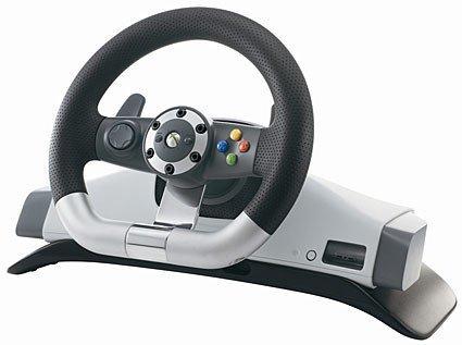 Xbox 360: desvelado el volante inalámbrico