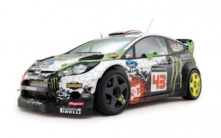 Cómo transformar un coche de rallyes en uno de rallycross por Ken Block