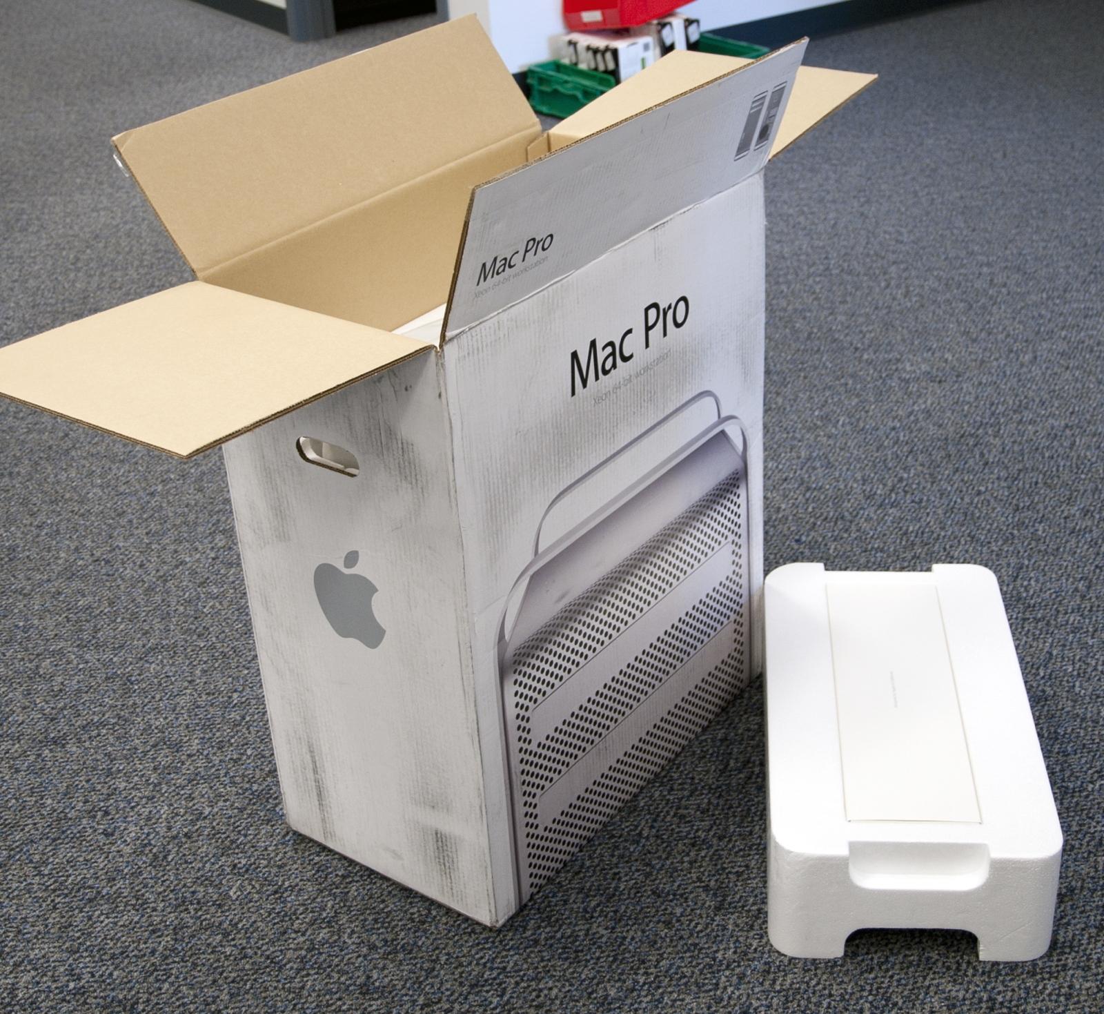 Foto de Unboxing del Mac Pro de 12 núcleos (1/11)