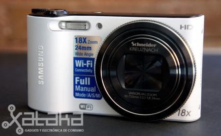 Samsung WB150F, análisis