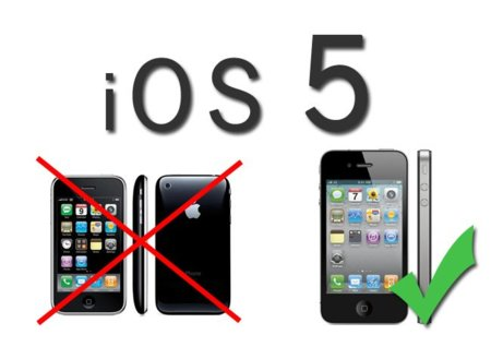 iOS 5 podría no ser instalable en los iPhone 3GS
