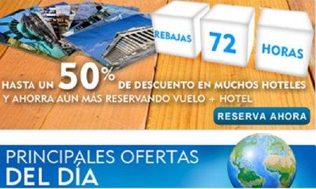Nueva edición de las rebajas de 72h en Expedia.es