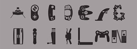 Imagen de la semana: tipografía consolera