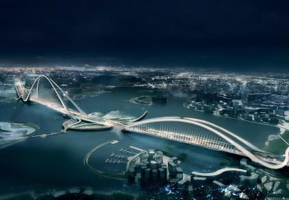 El puente con el arco más grande del mundo estará en Dubai