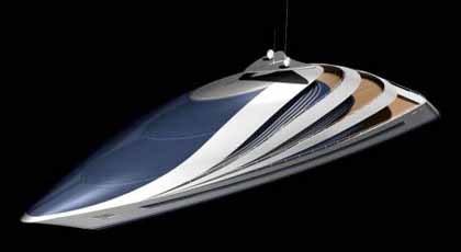 Poseidon 180, un Bugatti sobre el mar