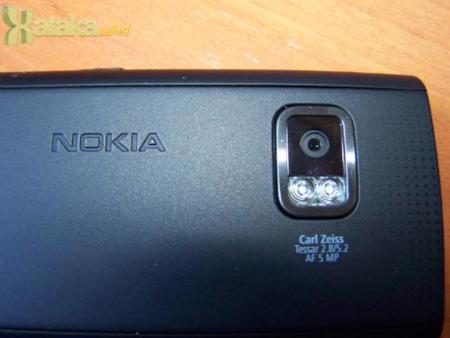 Nokia X6 16GB - cámara
