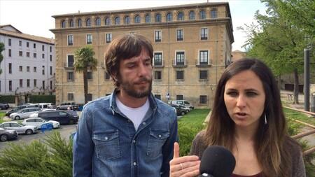 Mikel Buil Y Ione Belarra De Podemos Navarra