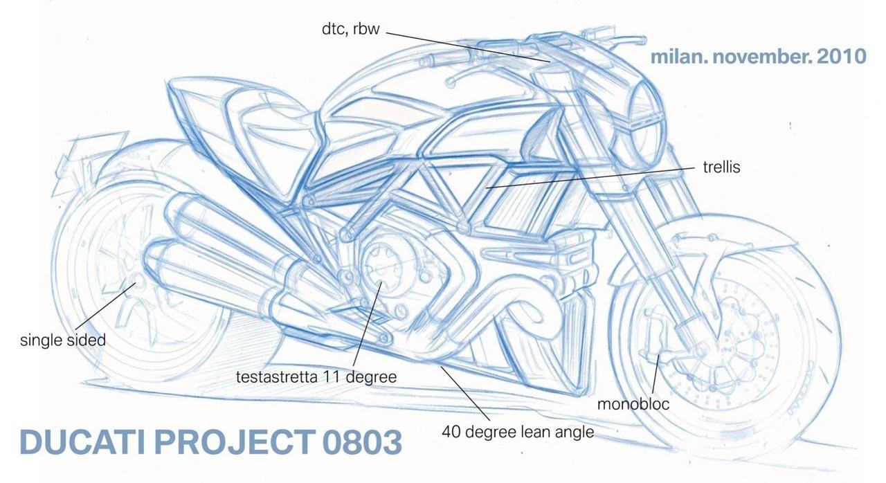 Foto de Ducati Mega Monster, nuevas imágenes y planes de presentación (1/9)