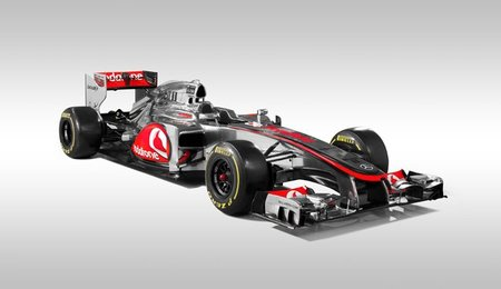 McLaren presenta el MP4-27