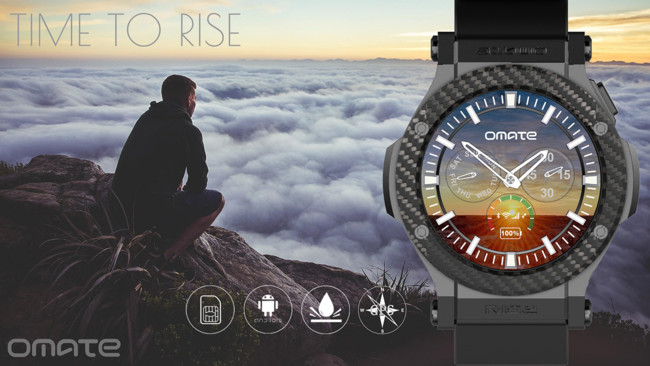 Omate Rise Android-OS Smartwatch