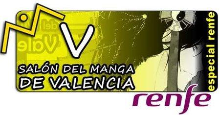Renfe hace descuento para ir al V Salón del Manga de Valencia