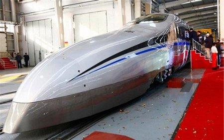 China: a 500 km/h sobre raíles