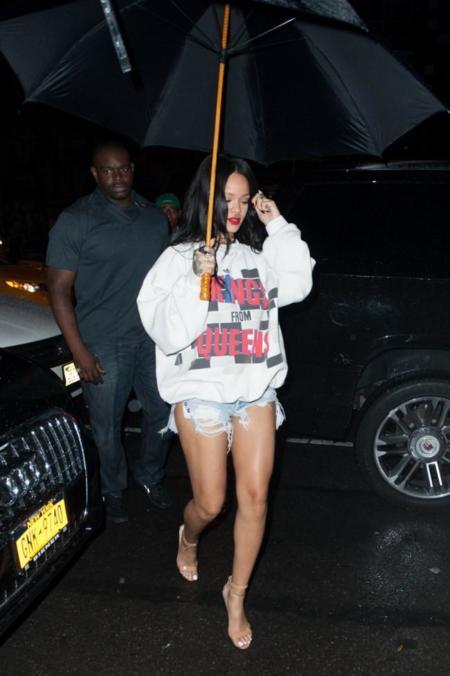 Rihanna y Cara Delevingne, más cortas que nunca
