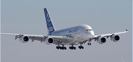 "Un A-380 como ""jet privado"""