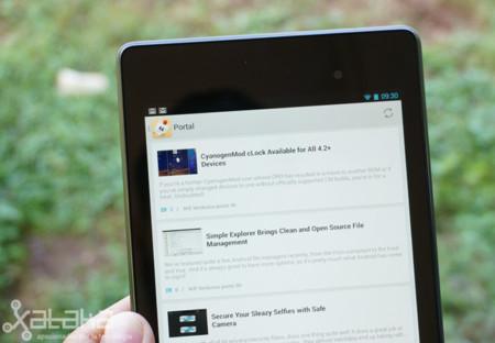 Nexus 7 Tapatalk