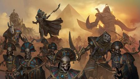 Los Reyes Funerarios anuncian su llegada a Total War: WARHAMMER II con este épico  tráiler cinemático