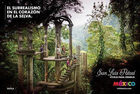 El jardín surrealista de Edward James en Xilitla, escapada a San Luís Potosí