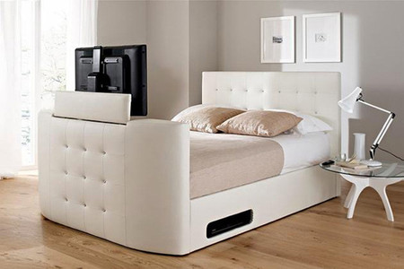 ideas para esconder la televisi n. Black Bedroom Furniture Sets. Home Design Ideas