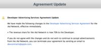 Apple reparte más dinero para desarrolladores con el programa iAd