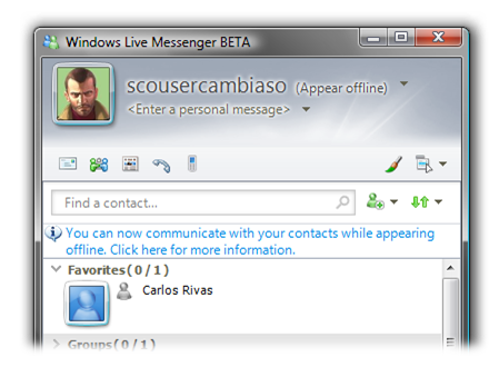 live messenger espana: