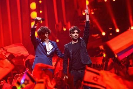 Ermal Meta Y Fabrizio Moro Representing Italy Eurovision Song Contest 2018 Final