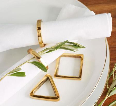 Una combinación cromática muy actual: Oro y blanco