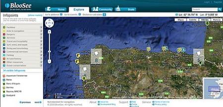 BlooSee, red social para los amantes del mar y la navegación