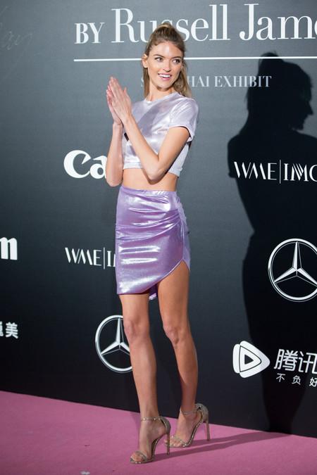 victoria secret Martha Hunt look estilismo outfit