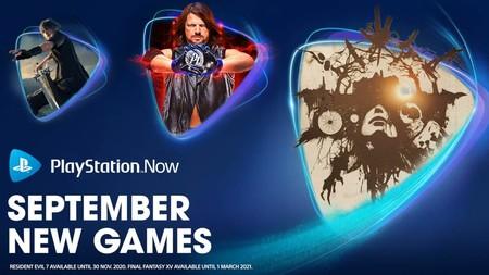 Final Fantasy XV y Resident Evil 7 entre los nuevos juegos que se han unido a PlayStation Now en septiembre