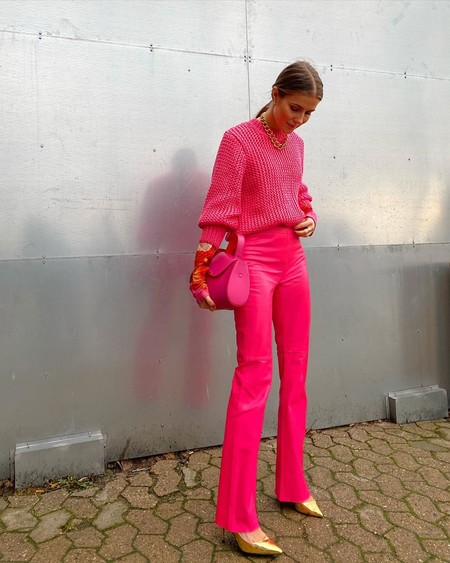 Combinar Un Pantalon Rosa 02