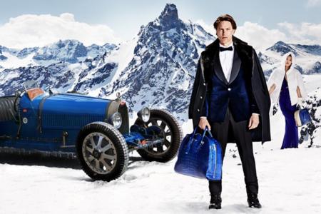 Bugatti elige también la nieve de los Alpes para fotografiar su colección EB Ettore Bugatti