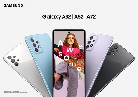Samsung Galaxy A32 A52 5g A72 Oficial Disponibilidad Precio