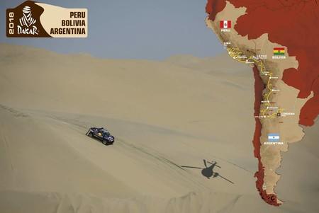Presentado el recorrido del Dakar 2018. Vuelven el desierto y las dunas, vuelve Perú